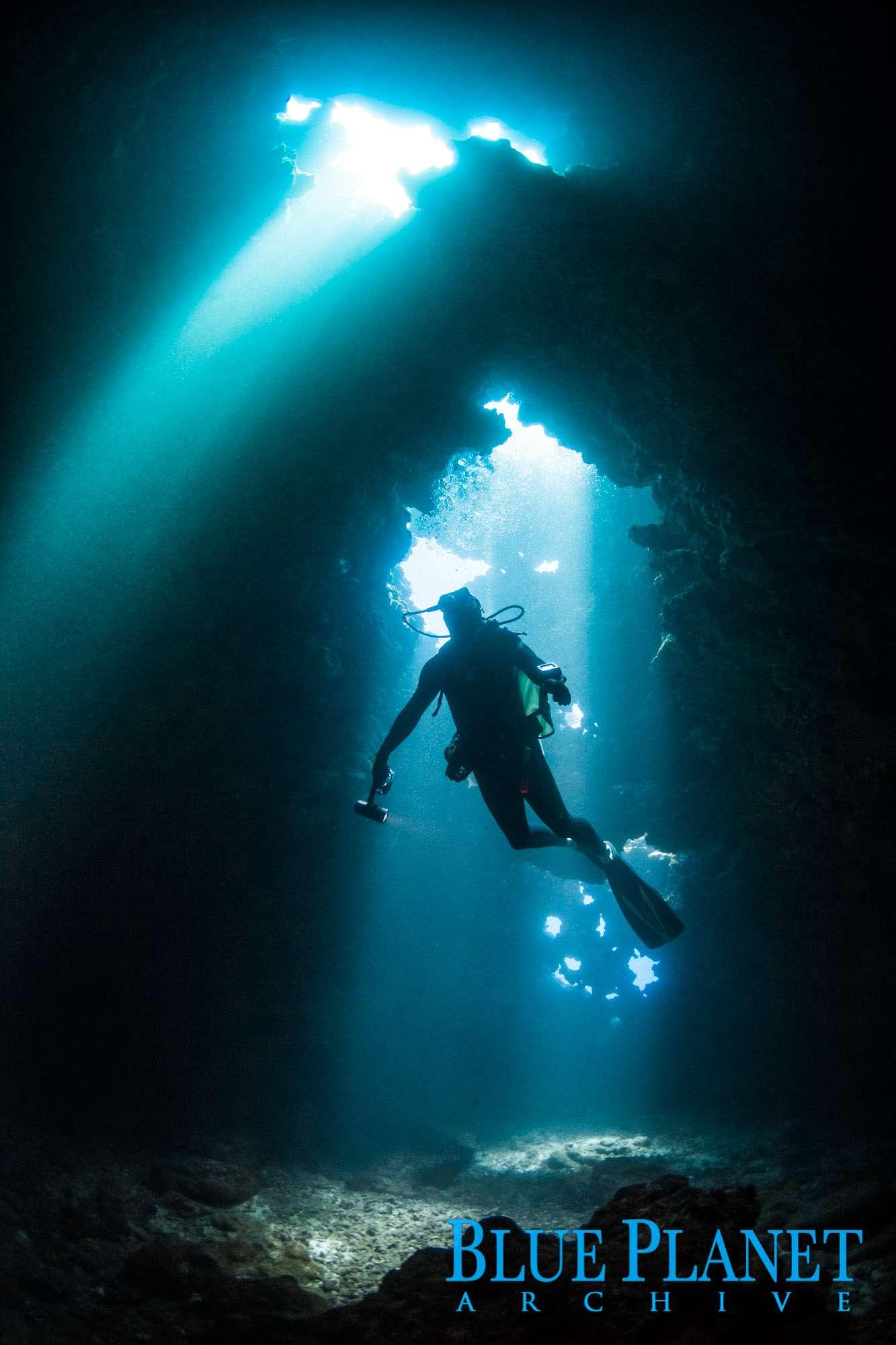 Scuba Diving | First Cathedral | Lanai | Hawaii | Usa | Pacific Ocean